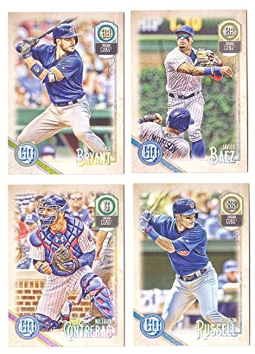 2018 Topps Gypsy Queen - CHICAGO CUBS Team Set