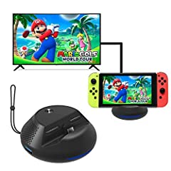 Compatible adapter:Power supply:you need a 15V/2.6A power adapter,The original switch charger will work in this dock.Connection Instruction:1.Connect Dock and TV with a HDMI cable(1080p @60fps)2.Insert the original USB-C adapter into Dock's c...