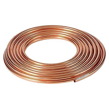 1 Meter Kupferrohr weich gegl/üht im Ring Wasser /ÖL GAS Heizung 4x0.5mm gegl/üht im Ring Wasser /ÖL GAS Heizung Wasserleitung Gasleitung