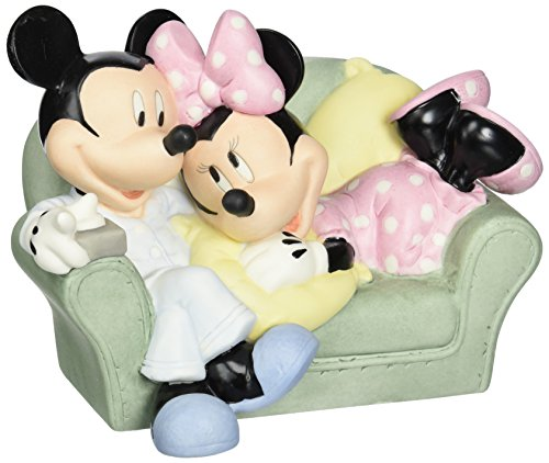 - Precious Moments, Disney Showcase Collection, Together Is The Nicest Place To Be, Bisque Porcelain Figurine, 131700