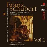Werke für Violine und Klavier Vol. 1