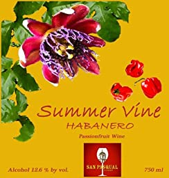 NV Summer Vine Habanero Passionfruit Wine 750 mL