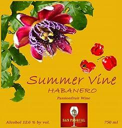 NV Summer Vine Habanero Passionfruit Wine 750 mL