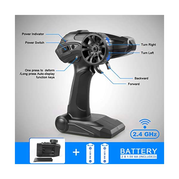 JEYPOD remote control car for kids, USA (2020)