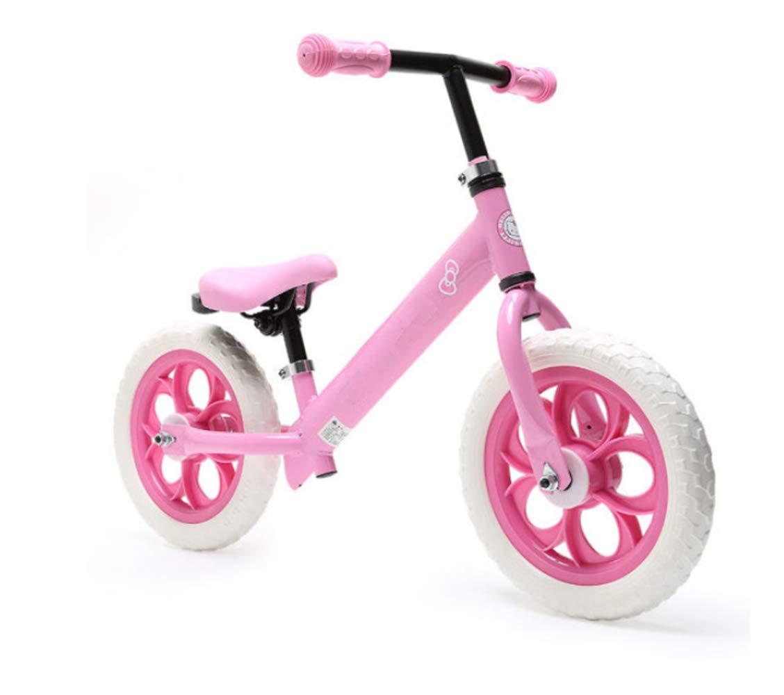 Steaean Bicicleta de Equilibrio niño sin Pedal Bicicleta Andador Bicicleta Coche Deslizante 2-3-6 años de Edad niño Juguete Coche niño niña Scooter Equilibrio Coche