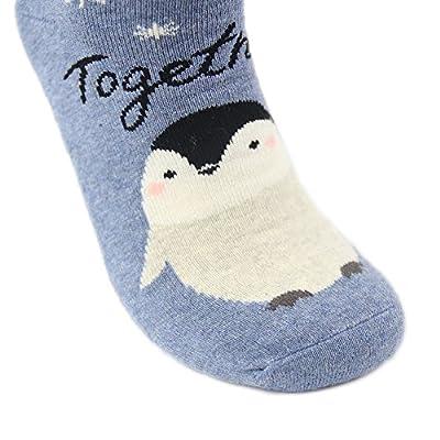 Christmas Gift Socks, Gmark Unisex Novelty Cartoon Cotton Socks 1,2,6 Pairs