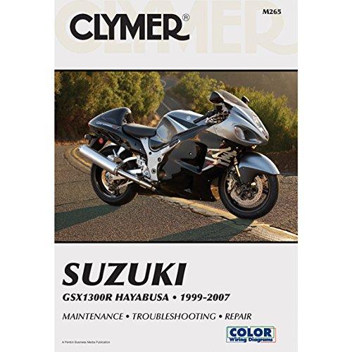 (Clymer Suzuki GSX1300R Hayabusa (1999-2007) (53043))