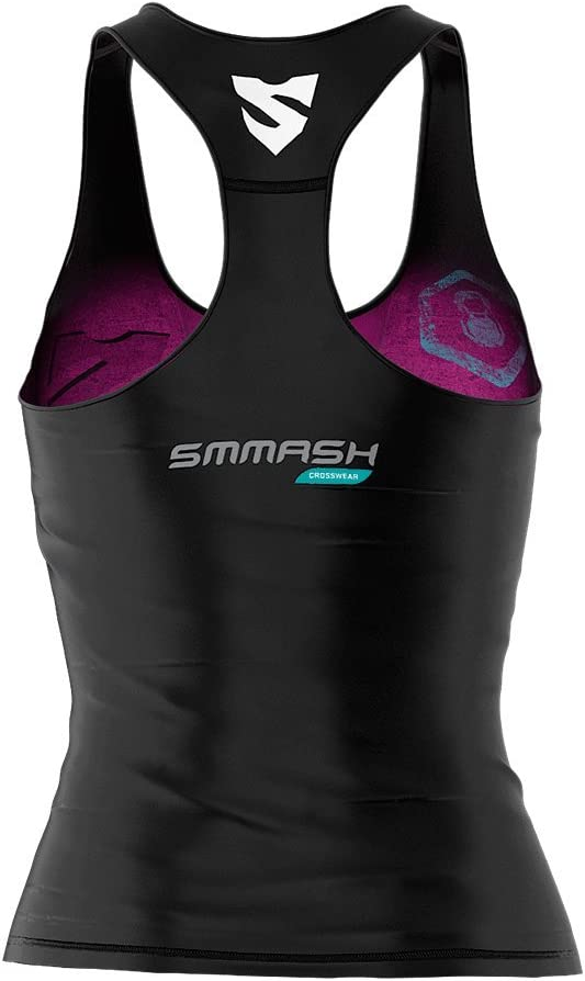 Smmash Mujer Compression Fit Tank Top Muerte