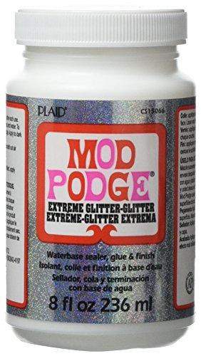 Mod Podge Waterbase Sealer, Glue and Finish (8-Ounce), CS15066 Extreme Glitz