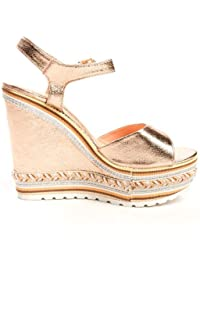 6592db1ce19 Ikrush Womens Sofi Studded Strappy Wedges Rose Gold  Amazon.co.uk ...