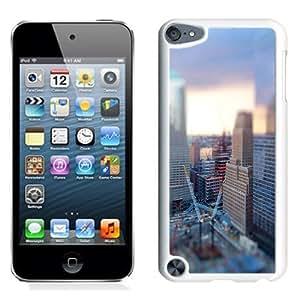 NEW Unique Custom Designed iPod Touch 5 Phone Case With Tilt Shift City Construction_White Phone Case