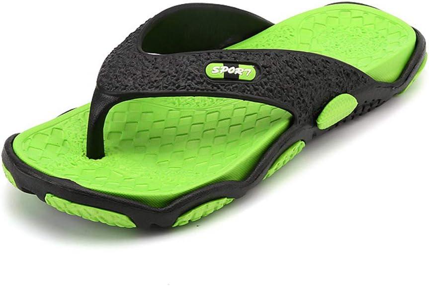 August Jim Flip Flops for Men Fashion Summer Breathable Lightweight Beach Sandals