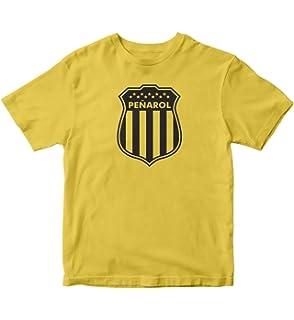 TJSPORTS Club Atlético Peñarol T Shirt Camiseta Uruguay Futbol Yellow