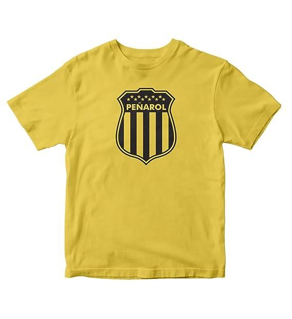 TJSPORTS Club Atlético Peñarol T Shirt Camiseta Uruguay Futbol (Small)