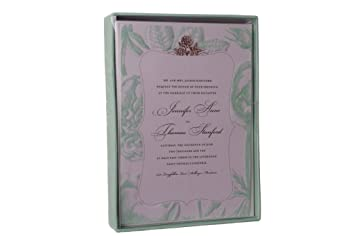 25 american crafts mint green floral printable wedding invitations 5