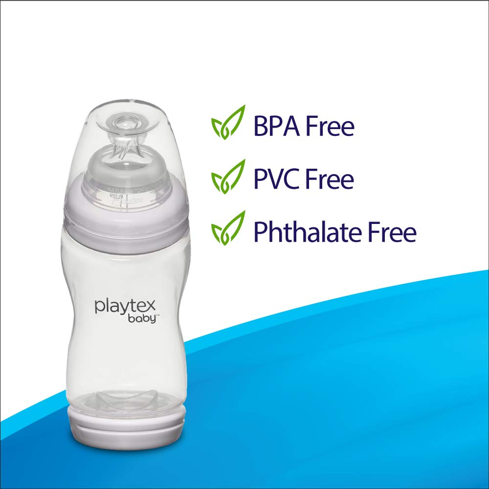 9 oz Playtex Baby BPA-Free VentAire Fox Decor Baby Bottles Pack of 3