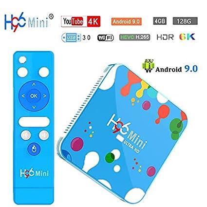 4G 32G Android tv Box h96 max TV Box Android 8 1 RK3328 4K