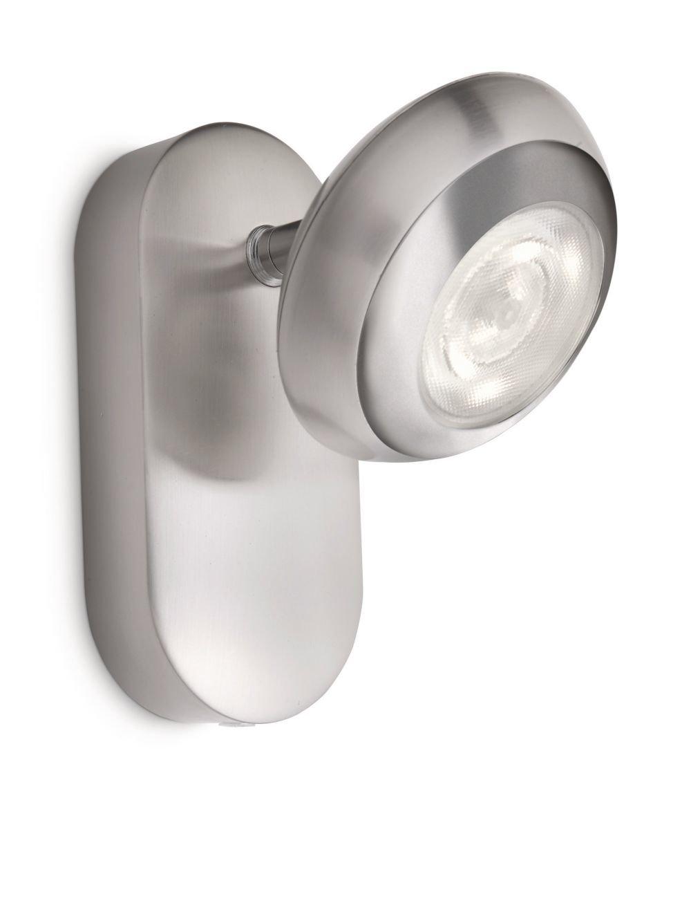 Philips SEPIA spot LED luminaire d'inté rieur Blanc Aluminium 915004146801