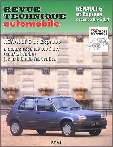 Rta 711.2 Renault 5 et express ess.0.9 a 1.4 fin fab: Amazon.es: Etai: Libros en idiomas extranjeros