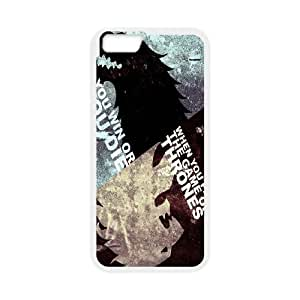 iPhone 6 4.7 Inch Cell Phone Case White Game of Thrones 3D Custom Phone Case Cover CZOIEQWMXN15683