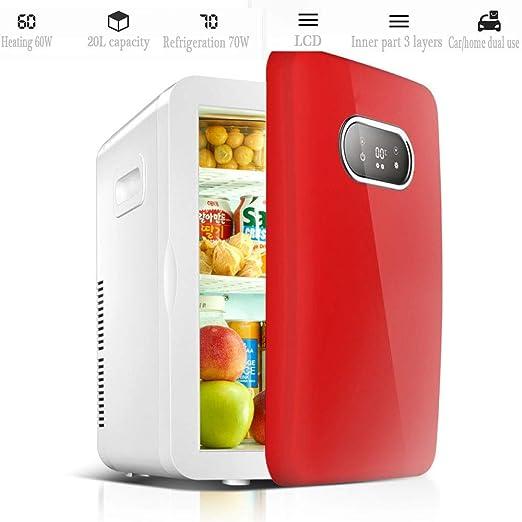YIWANGO Portátil Refrigerador Fría Caliente Doble Función Pequeñas ...