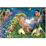 Sunsout Butterfly Rainbow 6000 Piece Jigsaw Puzzle