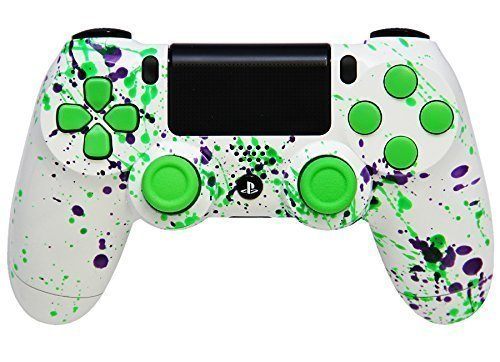 Alien Blood PS4 PRO Rapid Fire Custom Modded Controller 40 Mods for All Major Shooter Games BO4 & More (CUH-ZCT2U)