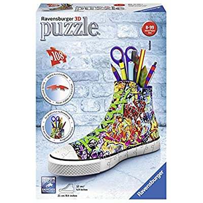 Ravensburger Sneaker Graffiti Style Jigsaw Puzzle (108 Piece), Multicolor: Toys & Games