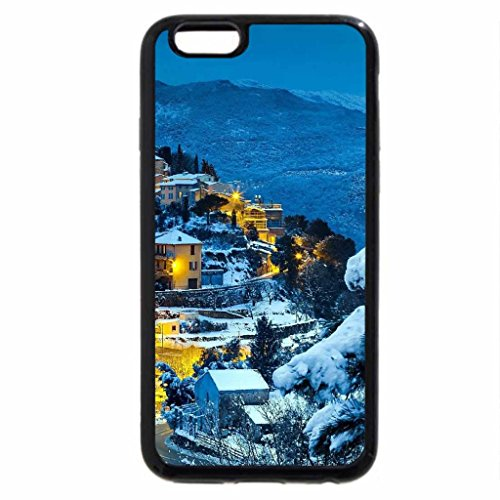 iPhone 6S / iPhone 6 Case (Black) Mediterranean Winter