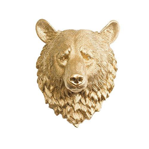 resin bear head - 6