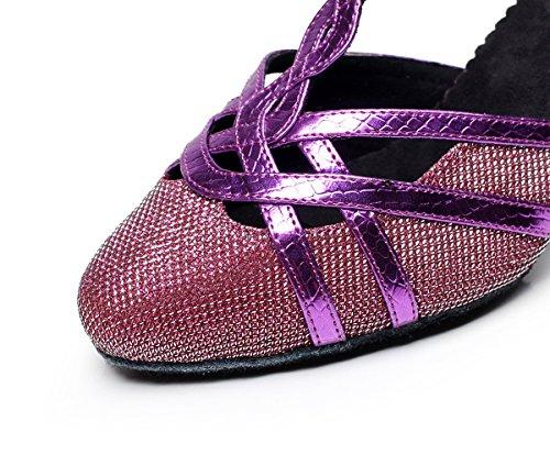 Minitoo ,  Damen Tanzschuhe Violett