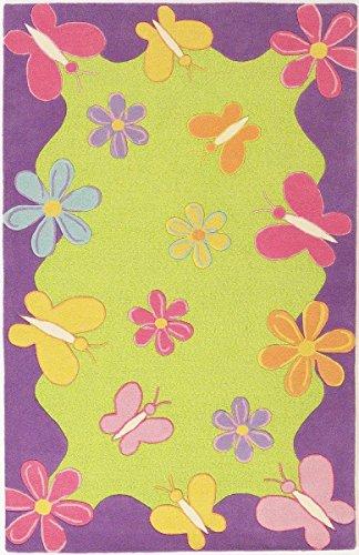KAS Oriental Rugs Kidding Around Collection Springtime Fun Area Rug, 5' x 7'6