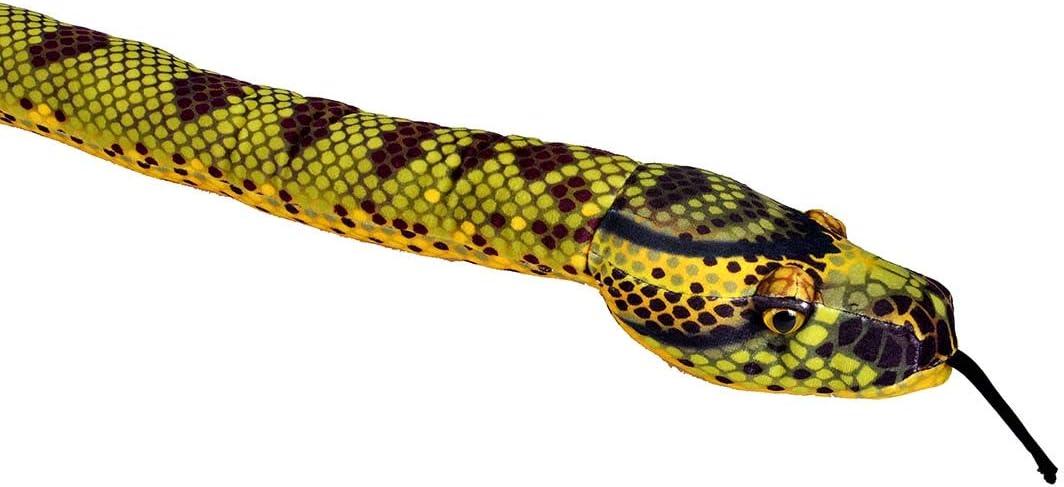 Giocattolo coccolone Snakesss 137 cm Multicolore Wild Republic- Peluche Serpente Anaconda 1