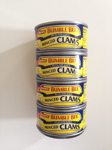 Clam Dip Recipe (Snow's Bumble Bee Minced Clams 4 Pack)