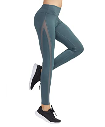 016387b550a91 Amazon.com: MAVOUR COUTURE Womens High Elastic Running Sports Leggings with Pockets  Athletic Yoga Pants for Workout Tight Fitness: Clothing