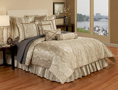 Austin Horn Classics Hampshire 6 Piece Luxury Bedding Collection, Queen (Bedroom Set Austin Set)