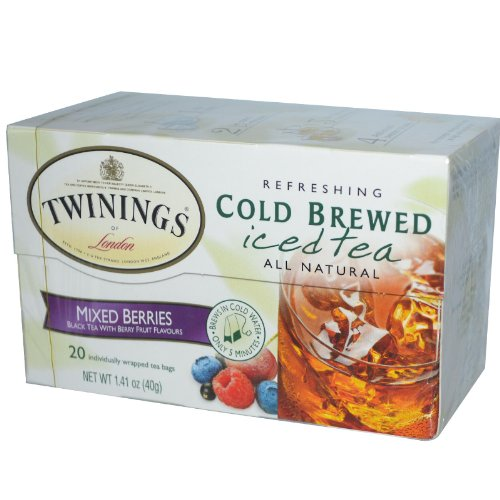 Twinings Mixed Berries Cold Brewed Iced Tea, 20 ct