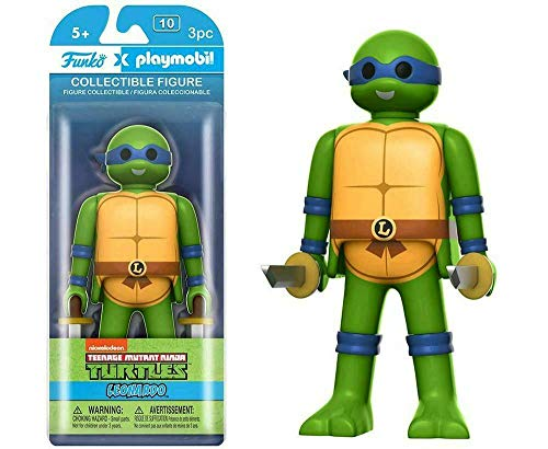 Teenage Mutant Ninja Turtles Leonardo Playmobil Figura De Acc