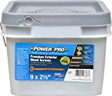 The Hillman Group 967787 Power Pro Exterior All Purpose Screw, 9'' x 2-1/2''