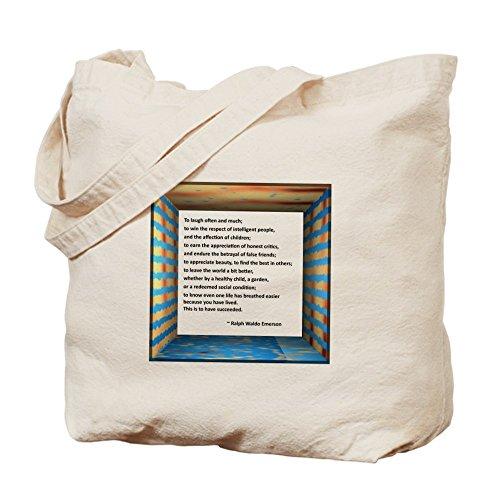 CafePress–la naturaleza de éxito–Gamuza de bolsa de lona bolsa, bolsa de la compra