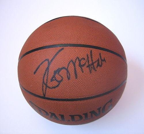 Kevin McHale Signed Ball - PSA/DNA Certified - Autographed ()