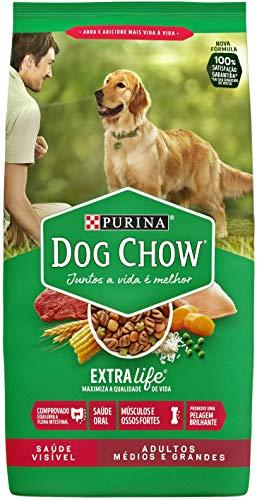 Nestlé Purina Dog Chow Ração Seca Para Cães Adultos Raças Médias E Grandes 10,1Kg