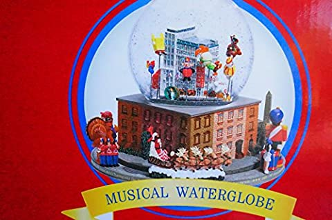 Macy's Thanksgiving Day Parade Musical Water Globe Snow Globe (The Thanksgiving Day Parade)