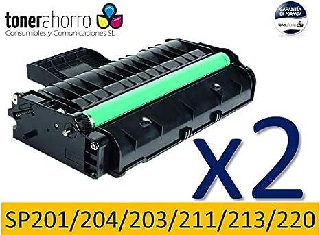 TonerAhorro ® PACK 2 UD SP201N / SP204SN / SP203S / SP211 / SP213 ...