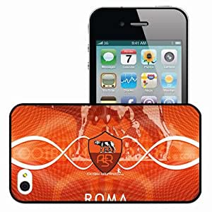 Personalized iPhone 4 4S Cell phone Case/Cover Skin 2013 amazing as roma Black