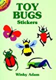 Toy Bugs Stickers, Winky Adam, 0486407381