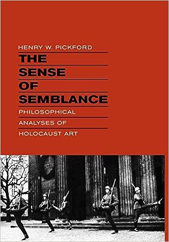The Sense of Semblance: Philosophical Analyses of Holocaust Art