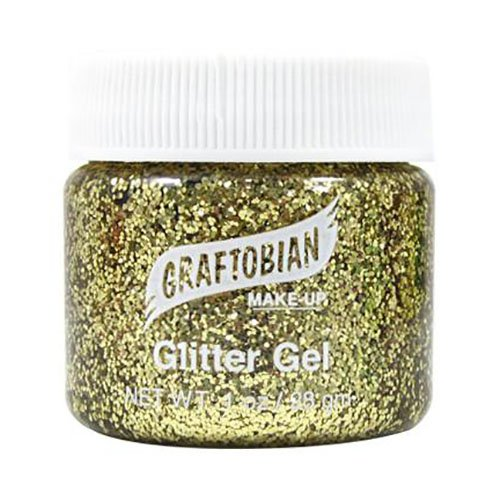 Glitter Gel (Gold) by Graftobian