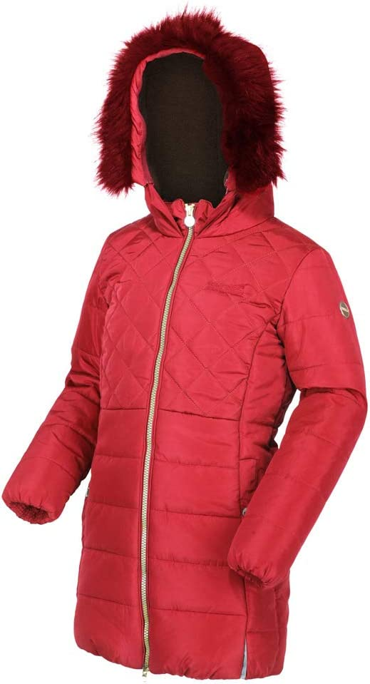 Regatta Unisex Kids Bernadine High Shine Water Repellent Coat With Thermoguard Insulation Jacket