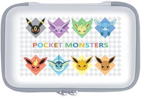 Pokemon 3DS XL estuche r?gido EEVEE Umbreon Espeon Vaporeon Fareon Jolteon Llevar bolsa del recorrido Protector XY, modelo: Amazon.es: Electrónica